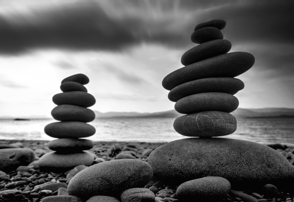 How to Use Photoshop to Edit Black and White Images - Zen in Stone | Photoshop Tutorial