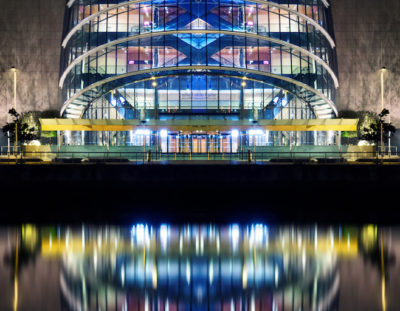 How to Use Photoshop to Edit Night Images – The Dublin Convention Centre | Photoshop Tutorials