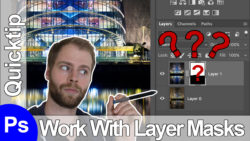 how to use adobe photoshop layer masks