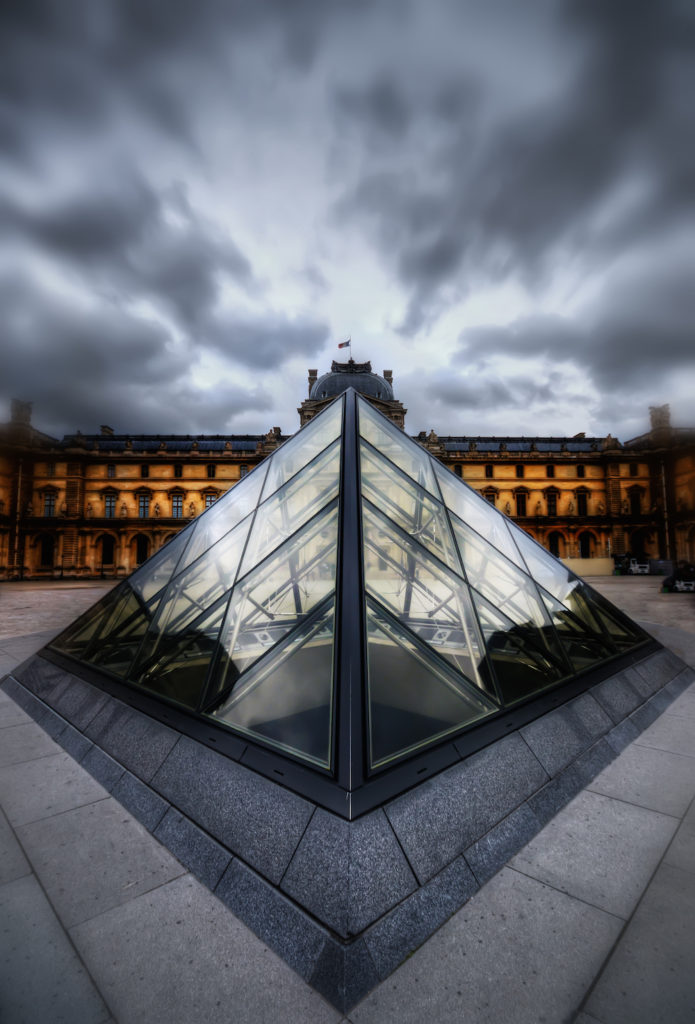Using Photoshop to Create a Dramatic Scene - Example: The Louvre