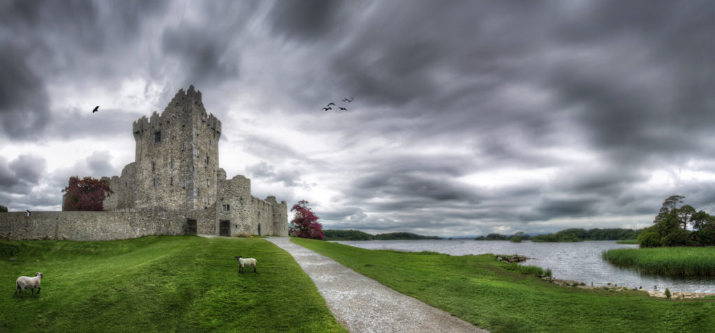 How to Create a Dramatic Panorama in Photoshop - Ross Castle | Photoshop Tutorial