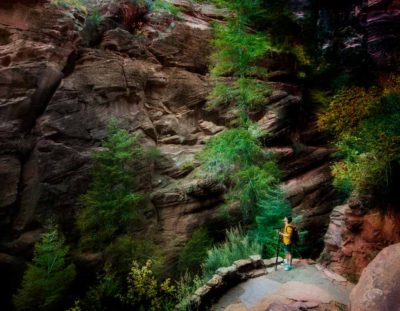 How to Use Photoshop to Edit Your Landscape Images – Example: Zion Below