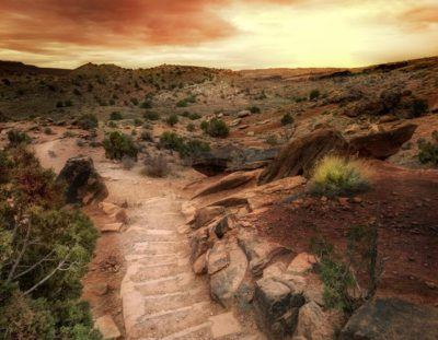 How to Create a Sunset in Photoshop – Example: Path to Tomorrow | Photoshop Tutorial