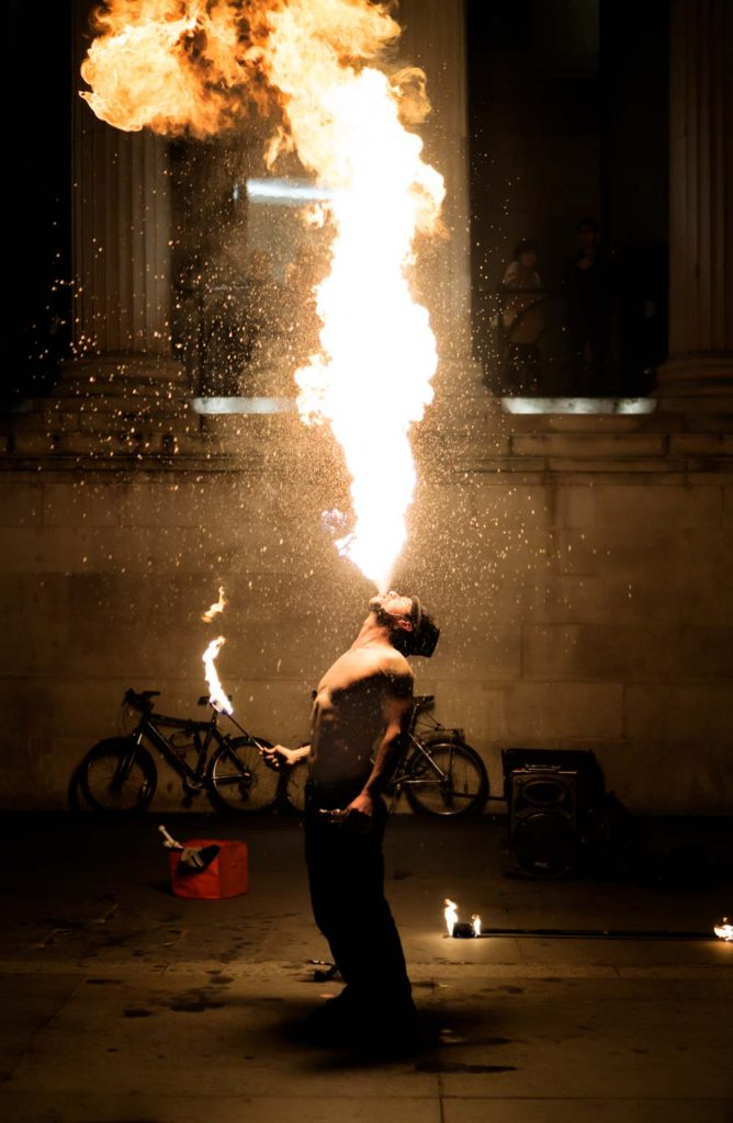 How to Use Photoshop CC - Example: London's Fire Dancer | Photoshop Tutorial