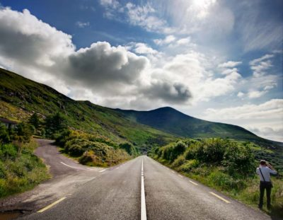 Landscape Photography – Example: The Road to Light   Photoshop Tutorial