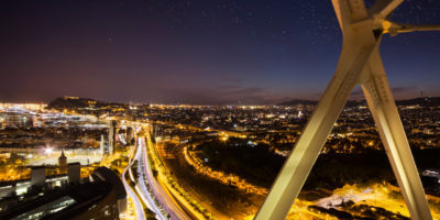 barcelona night image sky view week photo