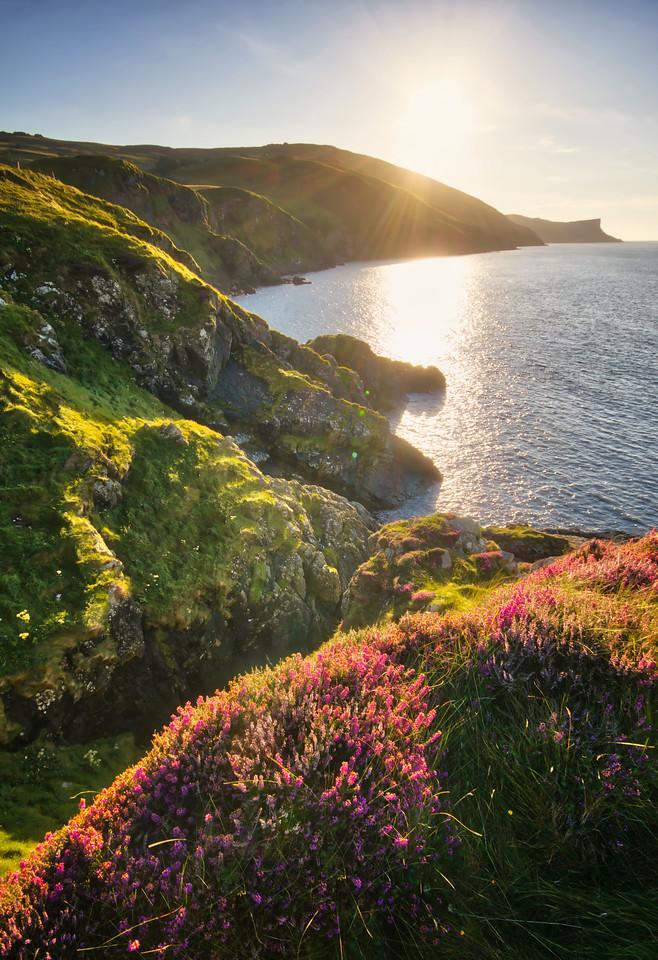 ireland coast line irish landscape nature photography