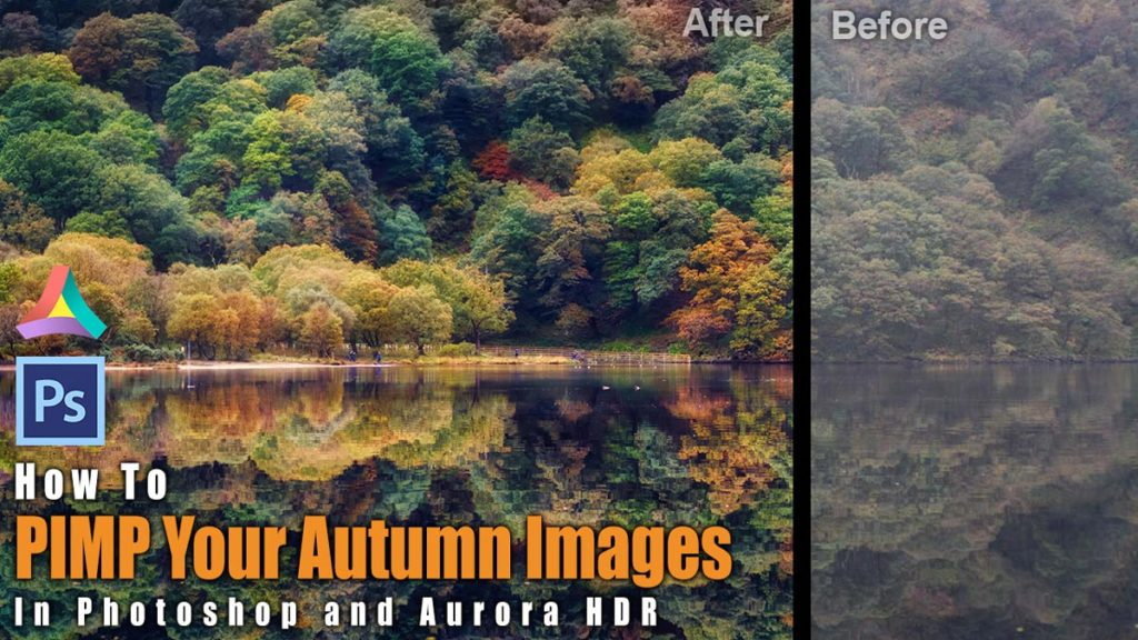 how to use aurora HDR and photoshop for autumn HDR photos