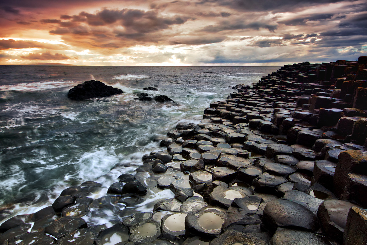 letsimage  landscape  landscape photography  nature  globetrotter  outside  travel  wide  stunning  wallpaper  ireland  irish  united kingdom  island  belfast  northern ireland  uk  giants causeway  tourism  game of thrones  got  unbelievable  stones  structure  sea  ocean  sunset  travel photo  theglobewanderer  travel dudes  live authentic