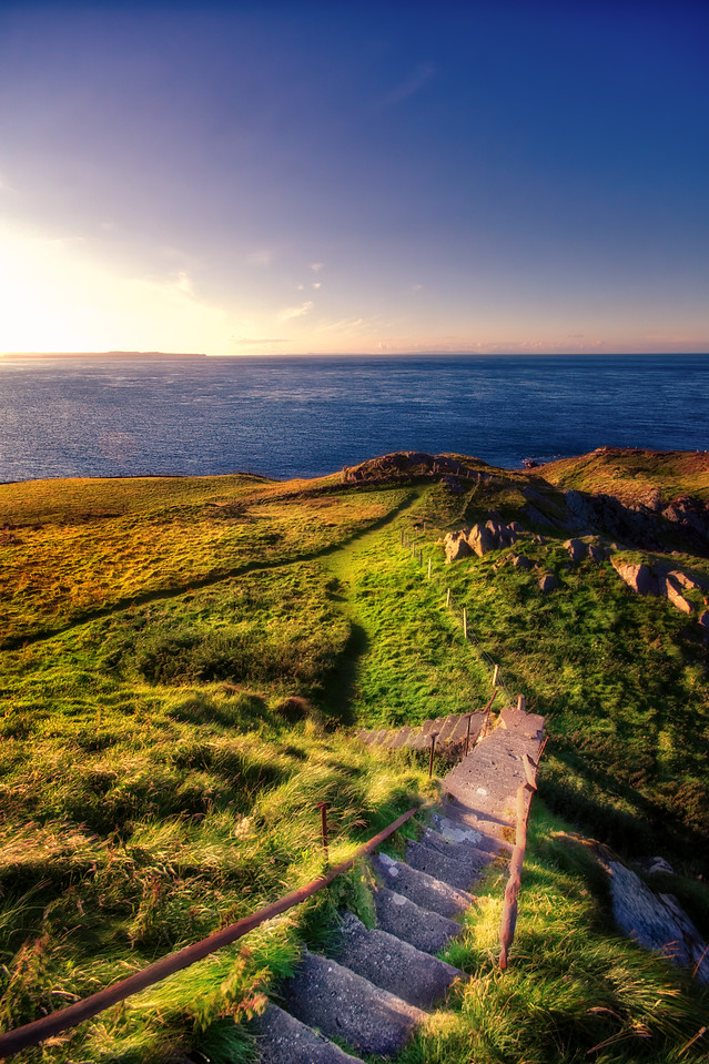 Torr Head Ireland How To Create Stunning Landscape Images In Photoshop And Aurora HDR 2018 | Example: Irish Stairs