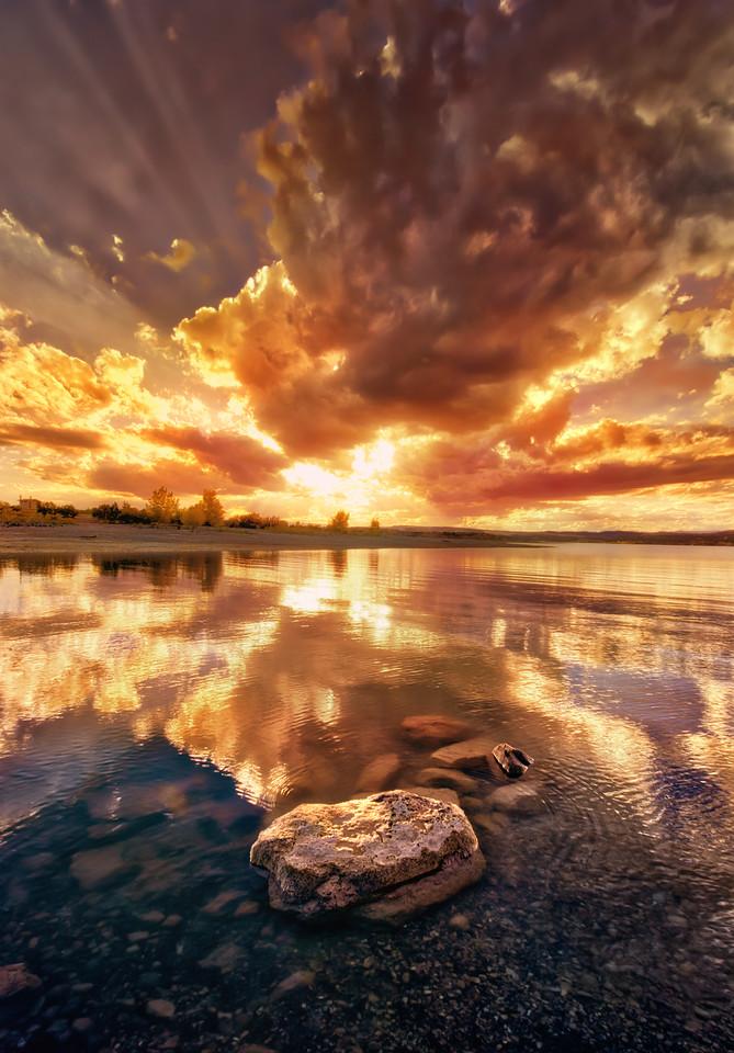 sunset utah lake reflections wallpaper landscape photography nature