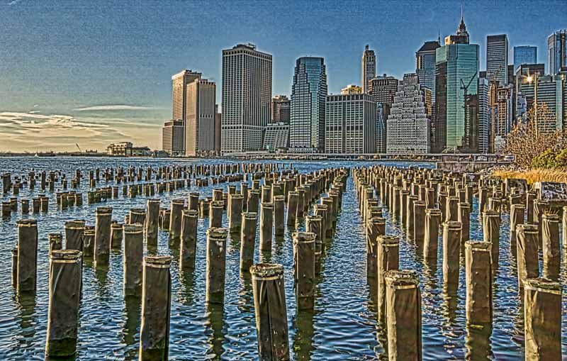 too strong editing in HDR photography