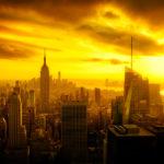 daily photo new york view sunset