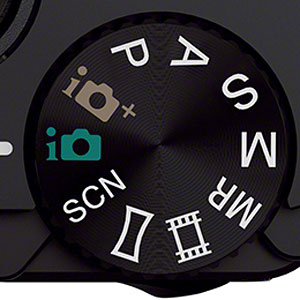 Get to know your camera - the mode dial