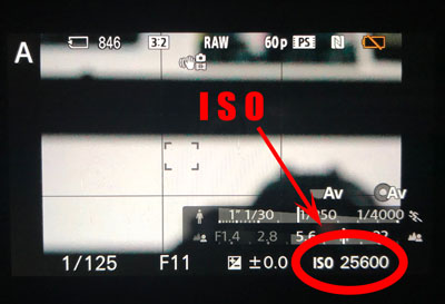 where to find ISO on your camera beginner tutorial