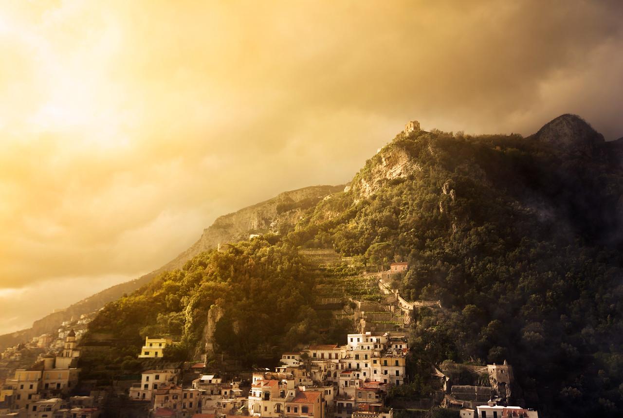 Amalfi's Mountain Side