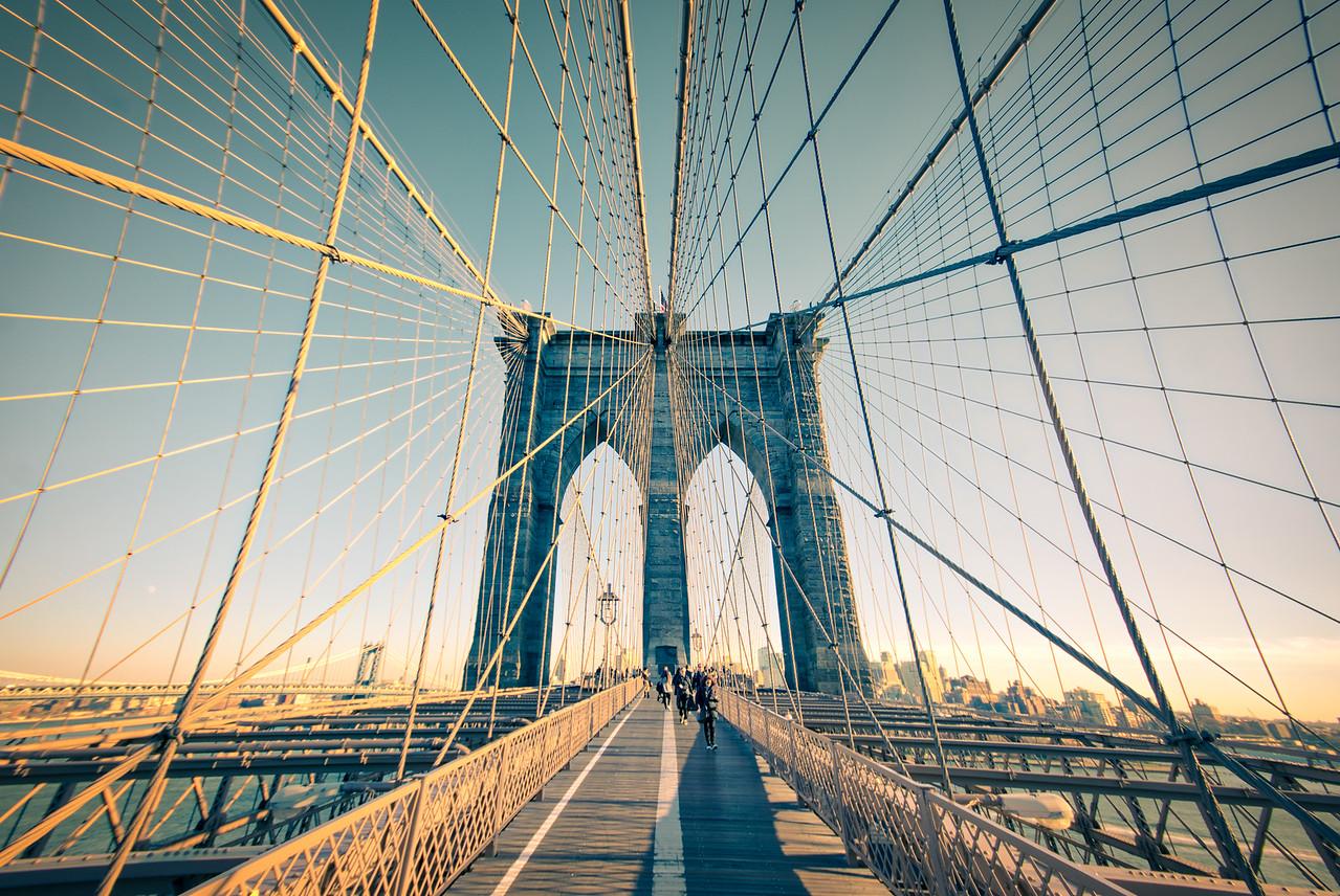 Brooklyn Bridge's Ropes