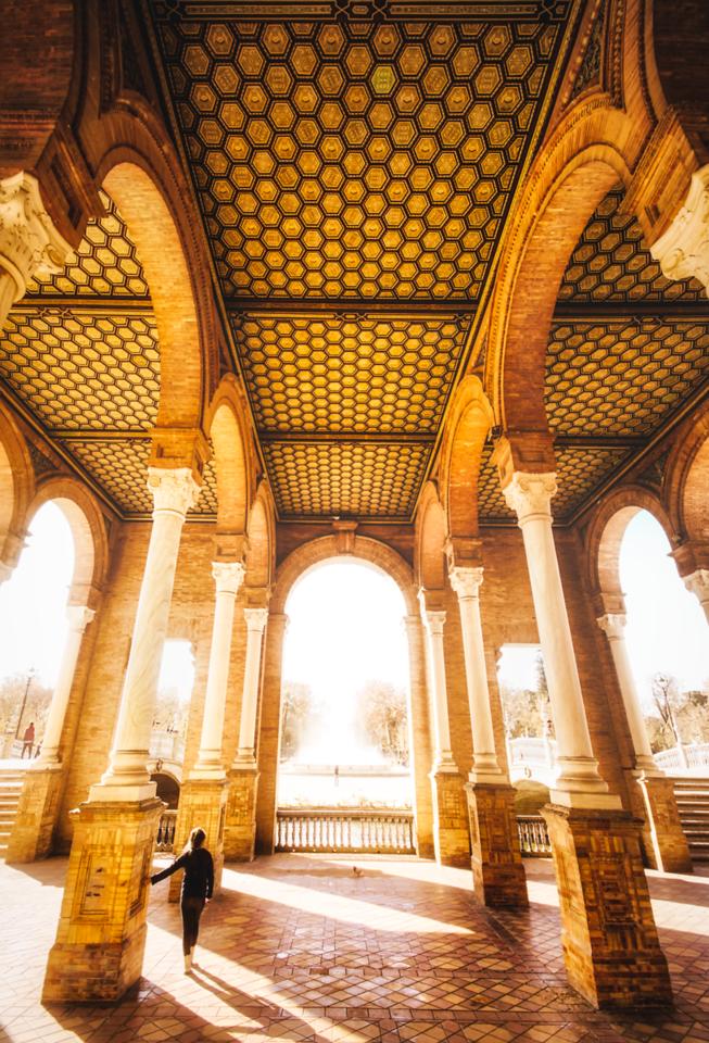 Seville's Golden Palace