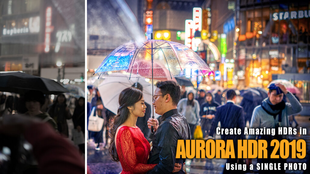 How to Make An AMAZING HDR with a Single Photo using Aurora HDR
